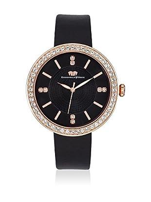 Rhodenwald & Söhne Uhr mit Japanischem Quarzuhrwerk 10010099 schwarz 38  mm