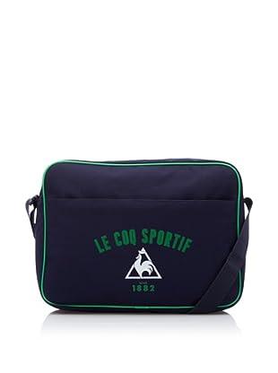 Le Coq Sportif Bolsa Sac Reporter Logo 2 (Azul)