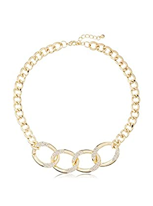 Jules Smith Pave Curb Link Necklace