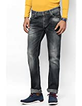 Black Low Rise Skinny Fit Jeans Pepe Jeans