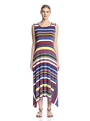 Sfizio Women's Striped Maxi Dress