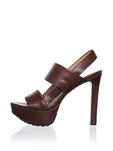 Lisa by Donald J Pliner Women's Dava Platform Sandal (Bark)