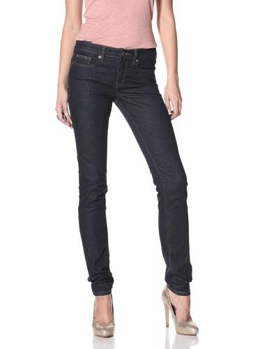 Henry & Belle Women's Signature Ankle Skinny Jean (Dark Indigo)