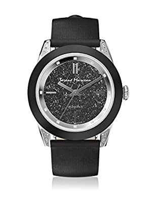 Serene Marceau Diamond Reloj de cuarzo Woman Series VI Negro 38 mm