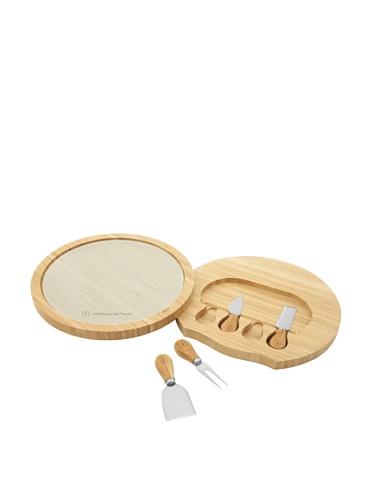 Wolfgang Puck 5-Piece Bamboo Cheese Board