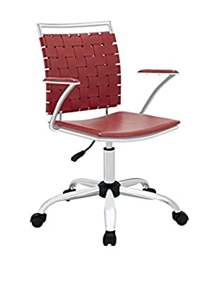Modway Fuse Office Chair, Red