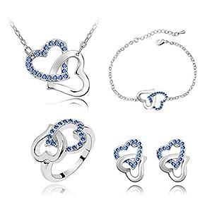 Girlz! Metal Bracelet For Women (Blue)