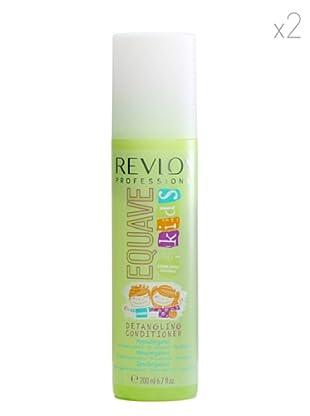 Revlon  Set 2 Equave Champús Acondicionadores Protección Niños 200  ml