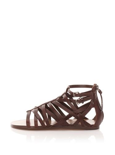 True Religion Women's Serina Gladiator Sandal (Brown)