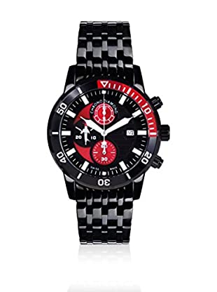 Chrono Diamond Reloj con movimiento cuarzo suizo Man 11500 Urano Negro 44 mm