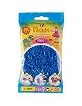 Bulk Buy:Hama Light Blue 207 09 Midi Beads 1,000 Count (6 Pack)