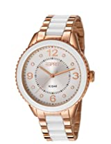 Esprit Analog White Dial Women's Watch - ES106192009