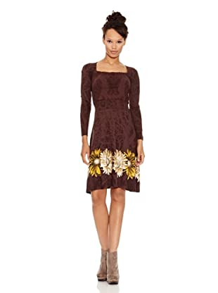Desigual Vestido Alicia (Chocolate)
