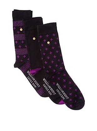 William Hunt 3tlg. Set Socken