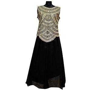 Bollywood Replica House Nargis Fakhri Gown - Black