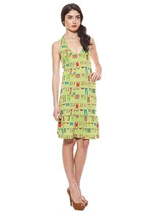 La Casita de Wendy Vestido Ropa Tendida (Verde)