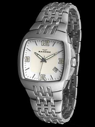 Sandoz 73501-00 - Reloj Col. Diver Unisex Acero blanco