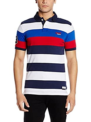Superdry Polo Duo Hoop Stripe