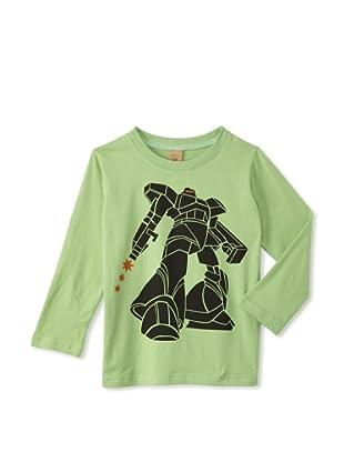 Monster Republic Boy's Robot Tee (Green)