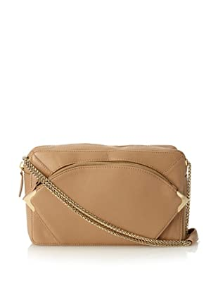 Be&D Women's Polaris Front Pocket Handbag (Taupe)