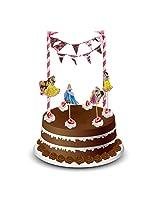 MBGiftsGalore Princess Cake Bunting