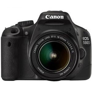 Canon EOS 550D SLR (Black)