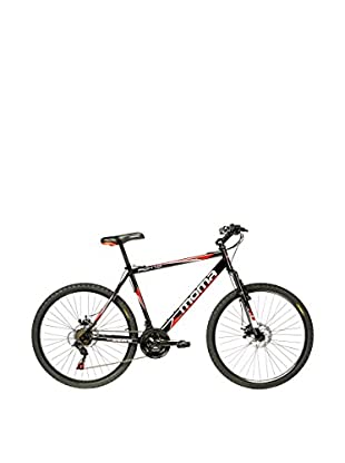 MOMA BIKES Bicicletta Btt 26 Hi-Ten Full Disc 21V Fox1.0 Nero