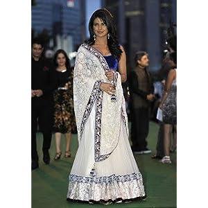 Priyanka Chopra Bollywood designer lehenga
