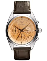 Emporio Armani Analog Brown Dial Men's Watch - AR0395