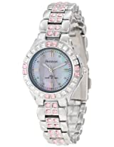 Armitron Men's Silver Stainless Steel Analogue Watch - 753689PMSV