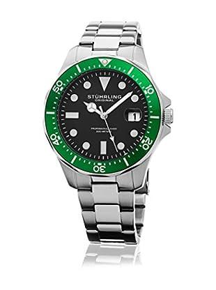 Stührling Original Uhr mit Japanischem Quarzuhrwerk Regatta 824.03 silberfarben 42  mm