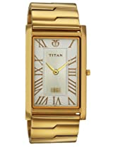 Titan Edge Analog Silver Dial Men's Watch - NB1515YM01