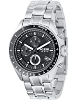 Fossil DECKER - M Analog Watch - For Men Silver - ch2600
