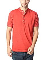 Peter England Men's Cotton T-Shirt