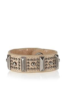 Rebecca Minkoff Buff Flower Stud Cuff Bracelet
