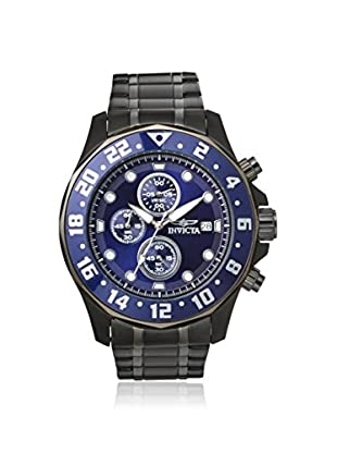 Invicta Men's 15944 Specialty Chronograph Black/Blue Stainless Steel Watch