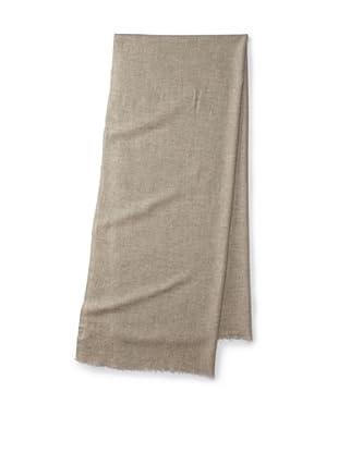 Brunello Cucinelli Men's Heathered Scarf (Light Grey)