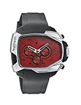 Fastrack Chronograph Red Dial Men's Watch - 38005PP03J