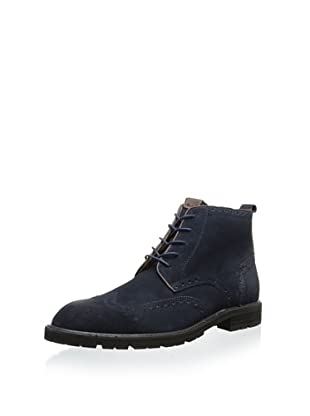 Florsheim Men's Gaffney Wingtip Boot (Navy Suede)