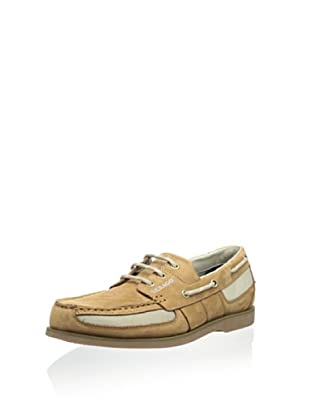 Sebago Men's Crest Vent Boat Shoe (Golden Tan)