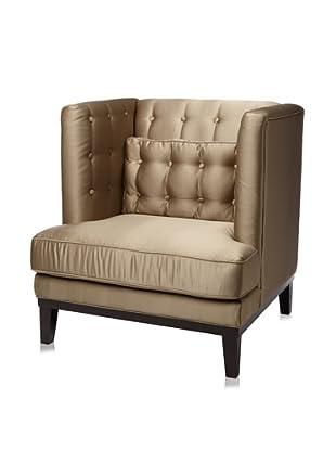 Armen Living Noho Satin Arm Chair