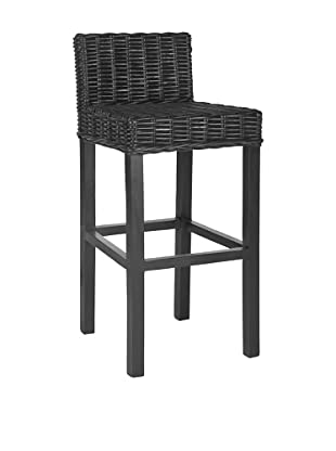 Safavieh Cypress Bar Stool, Black