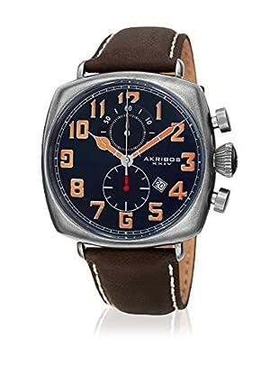 Akribos XXIV Uhr mit schweizer Quarzuhrwerk Man AK786BU 46 mm