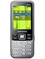 Samsung Metro Duos GT-C3322 (Deep Black)