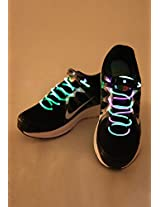 Green Pink Led Laces