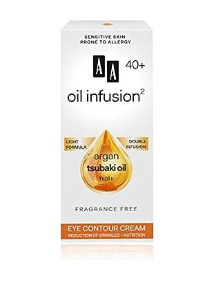 AA Cosmetics Augenkonturencreme Oil Infusion 40+ 15 ml, Preis/100 ml: 66.33 EUR