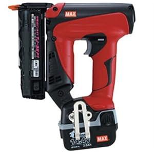 【クリックで詳細表示】マックス(MAX) 充電式ピンネイラ TJ-35P1-BC(1.5Ah): DIY・工具