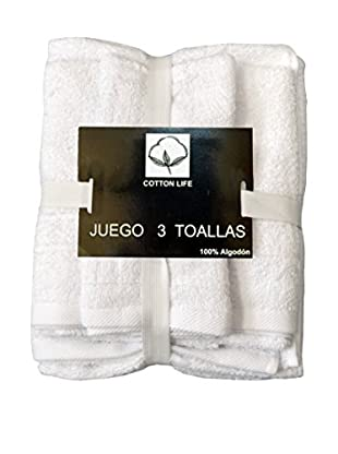 Mesalina Juego Toallas 3 Piezas Pack Toallas 3 Piezas 450 Grs.