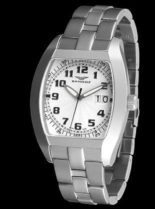 Sandoz 72559-00 - Reloj Col. Diver Acero Caballero plata / blanco