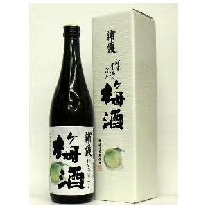 【クリックで詳細表示】浦霞 純米原酒につけた梅酒 720ml